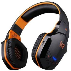 KOTION CADA B3505 sem fio Bluetooth 4. 1 Stereo Gaming Headphones Headset Controle de Volume Microfone HiFi Música Headsets 1pcs jogo W605