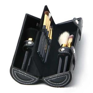 New Makeup brushes sets 9 pcs cosmetics brush kits Wooden handle make up brush tools Powder Contour brushes free shipping Hot