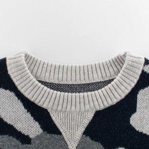 2019 Autunno Nuovi Prodotti in stile coreano Childrenswear bambini Maglione Camouflage bambini supera vestiti del bambino