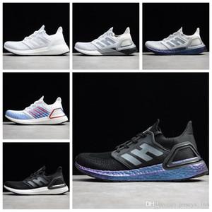 2020 Новые ультра Усиливает 20 торсионная пружина Consortium мужские кроссовки UltraBoosts 19 6,0 в пространстве Metallic Фиолетовый женщин Дизайнерские кроссовки