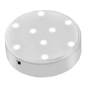 Lampada a LED da 4 pollici con lampada a LED rotonda Vaso luminoso a LED con 9 LED luminosi per il centro di illuminazione