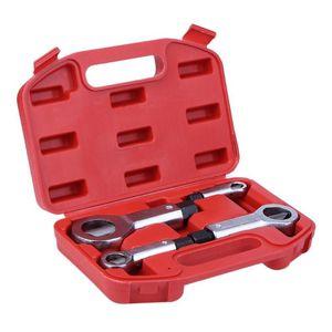 Nuts 9-27mm Pause Endommagé professionnels Splitter Cracker Remover Rust Nut manuel Outils d'extracteur