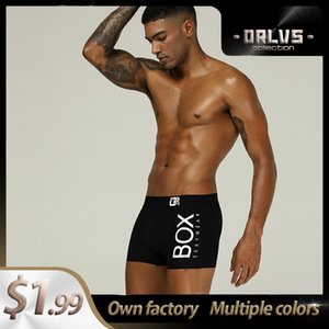 Boxer uomo CMENIN Cotone LOGO! Soft Sexy Uomo Intimo Boxer 2020 Nuova Innerwear Mens Boxer Underware Boxers Gay