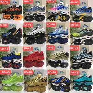 Uomini Sneakers tn più Running Shoes stringa attiva geometriche Turbo Verde RX Blue Gold Fashion Designer MensTrainers Sport Scarpa 40-46