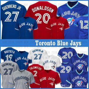 27 Vladimir Guerrero Jr. Toronto Blue Jays 19 Jose Bautista Jersey 29 Joe Carter 12 Roberto Alomar 20 Josh Donaldson