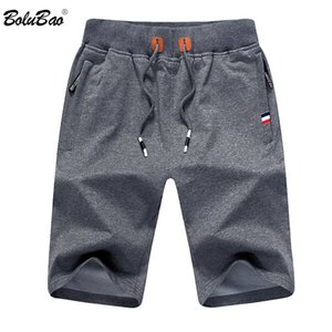 Bolubao Men Summer Casual Shorts Men Brand New Board Shorts Solid transpirable cintura elástica hombre Casual Short Men MX190718