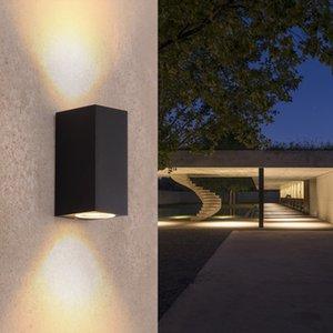 Luces de pared Luces LED al aire libre A prueba de agua IP65 3W 6W COB AC90-260V Iluminación LED Hogar moderno Dormitorio al aire libre Lámpara Pasillo Lobby -I175