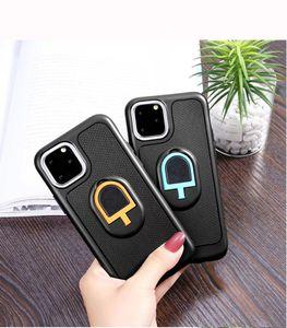 Car Mount Kickstand TPU celular casos magnética para Samsung Galaxy S20 Plus Ultra Nota A51 A01 Iphone 11 redmi 10 T8 caso