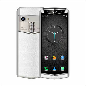 2020 Mini teléfono 4G LTE doble tarjeta SIM del teléfono móvil 64GB + 128 GB de mini de cuero téléphone caso WhatsApp facebook juego almacenar los teléfonos inteligentes libre de DHL