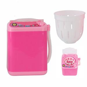 Mini maquillage électrique Brosse de nettoyage lave-linge Vison Cils Pinceau Poudre Puff Washer maquillage Faux cils outil