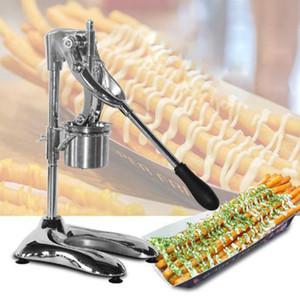 Commercial 30cm Manual Type super Fries long fabricant français Footlong Big Fries de pommes de terre frites et squeezer Dispeser