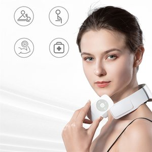 Xiaomi Youpin Jeeback Cervical Massager G2 TENS Pulse Back Neck Massager Far Infrared Heating Health Care Relax Work For Mijia App 2021
