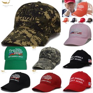 PYjp9 Trump hat new 2020 Make America Hats Again Donald Trump Baseball Caps hip-hop hat custom embroidery Party Great