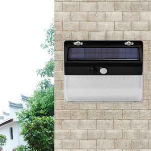 206LED parede luz solar carregamento solar três modos ao ar livre IP65 luz impermeável jardim com sensor de movimento e sensor de luz 10059
