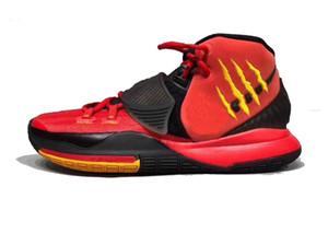 Горячая Kyrie 6 Мамба менталитет Брюс Ли обувь продажи бесплатная доставка мужчины женщины баскетбольная обувь с коробкой Drop Shipping US4-US12