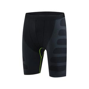 Hombres de compresión funcionando Bodyboulding Pantalones Pantalones cortos para hombres Pantalones cortos de formación profesional de la aptitud de secado rápido