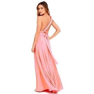 Sexy Women Boho Maxi Club Dress Red Bandage Long Dress Party Multiway Bridesmaids Convertible Infinity Robe Longue Femme CX200707