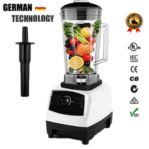 2200W Heavy Duty Commercial Blender Professional Blender Mixer Food Processor Japan Blade Juicer Ice Smoothie Machine