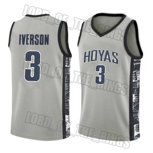 NCAA basketball jersey fast shipping quick dry college Allen 3 Iverson Joel Ben Embiid Simmons college basketball jersey