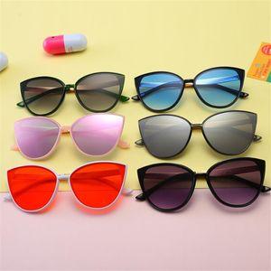 Cat Eye Moda Crianças Sunglasses design do Pentagram Sun Óculos Anti-UV Espetáculos do bebê Goggle Crianças Eyewear Adumbral A ++