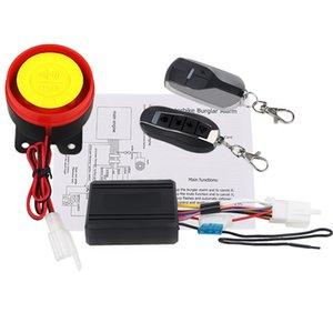 12V Moto Scooter Alarme clé Shell Anti-vol Télécommande 125dB Moto Sécurité Système de protection d'alarme