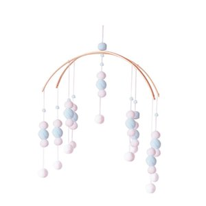 Hairball Wind Chime Baby Room Stroller Infant Bed Hair Ball Wind Bell Ceiling Hanging Ornament