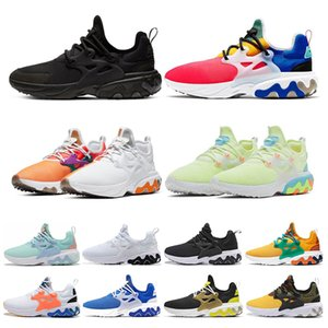 nike air react presto Mais barato New Running Shoes Presto TRIPLE PRETO BRANCO VOL OLYMPIC Atomic Rosa Mid Homens Mulheres Hot Formadores Tênis Esportivos Sapatos 36-46