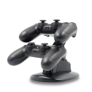 Wholesale PS4slim PS4 Wireless Controller Bluetooth Controller Aircraft Seat Charger PS4 Grip Dual Charger Controller Gamepad Charger