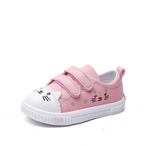 Sport Children Shoes For Kids Sneakers Boys Casual Shoes Girls Sneakers Breathable Fashion sapato Cartoon White Sport Shoes