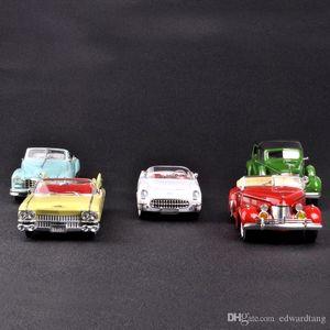 De aleación de coches Juegos de construcción, Cadillac Chevrolet Coches de Época, Clásico Retro Nostálgico artesanía, regalos del partido Kid 'cumpleaños', recogida, hogar Decoratios