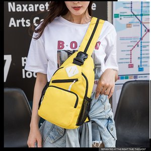 Trend fashion chest pack multi-function backpack mini backpacks zipper women bag wear-resisting oxford bags for women summer new