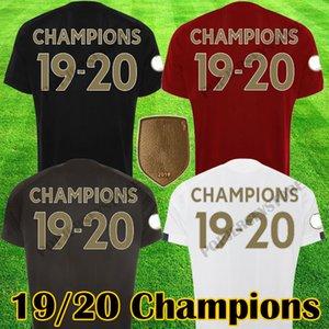Tailândia New Liverpool 2020 2021 LVP Mohamed M. Salah FIRMINO Soccer Jersey camisas do futebol 20 21 VIRGIL MANE Men + Crianças Conjuntos Kits