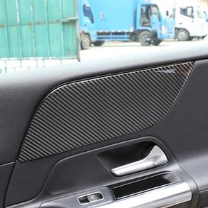 Decorazioni pannello in fibra di carbonio Front Door Sticker Car Styling per Mercedes-Benz Classe B W247 2020 Interior accessori automobilistici