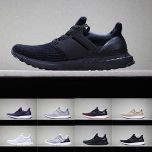 Ultra Boot 4.0 Zapatos para correr Muestra tus rayas Concienciación sobre el cáncer de mama CNY Negro Multi color Hombres Mujeres Zapatillas Real Boost Tamaño 36-45