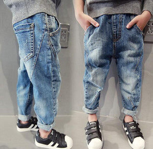 Children's Clothing Boys Pants Fashion Boys Jeans Spring Autumn Kids Casual jeans 5 7 9 11 13 14 Years Boys Denim Trousers
