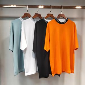 2021 디자이너 AC 스튜디오 여름 브랜드의 새로운 패션 여성 T 셔츠 면화 Chiara Feragni Sequins 여드름 스타일 남성 T 셔츠 별