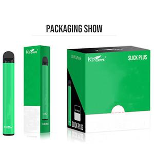 100% Original-Kangvape Slick Plus-Einweg Ecig Vape Kit 550mAh Akku 3,5 ml Tank leer Qualitäts Kangvape Pen
