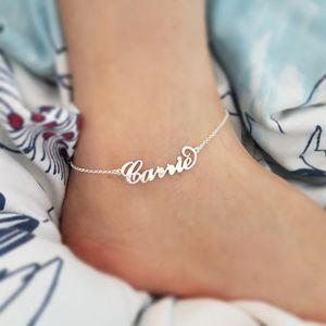 Bracelet en acier inoxydable Cheville Cheville Argent Couleur Synoke Boho Bijoux