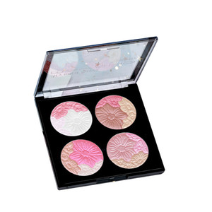 Hot Sombra Blush High Light Maquiagem Ice Cream Eye Sombra Pallete Romântico Art Luxury Beauty Fix face Integrado Pallete