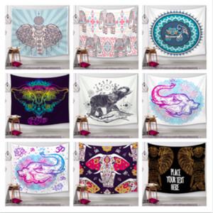 Tailandês indiano sorte elefante decorativo tapeçaria tapeçaria tapeçaria tapeçaria tapeçaria de casa ao ar livre do banheiro toalha de mesa