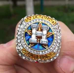 Houston 2018 Astros World Baseball Team Champions Championship ring Altuve Springer Fan Men Gift Wholesale 2019 2020 Envío de la gota