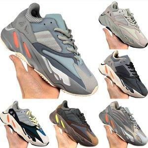 With Box 2020 Runner 700 Static Reflective Running Shoe Originals Kanye West V2 Runner 700 Calabasas Inertia Buffer Rubber Jogging Shoes