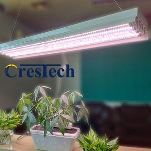 4ft T8 HO Floresan LED Kapalı Bitkiler için Işık Fikstür Büyümek, Yüksek Çıkış Çift Sıralı T8 LED Floresan Tüpler, 4 Grow Lambaları
