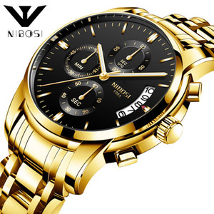 Наручные часы Nibosi Business Affairs Man наручные часы More Function Six Needle Quartz Watch