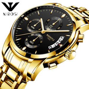 Reloj de pulsera Nibosi Business Affairs Hombre Reloj de pulsera Más función Reloj de cuarzo de seis agujas