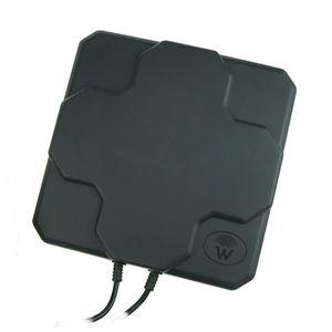 Painel Outdoor 4G LTE Antena N Feminino 18dBi 698-2690MHz Branco Preto aérea mimo Antenne externo Para Router Wireless