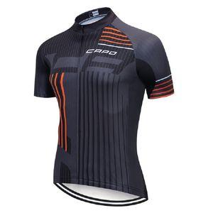 CAPO 2020 Jersey Cyclisme Eté hommes, respirant Noir Vêtements Vélo, vélo rapide à sec Vêtements, VTT extérieur Clothe