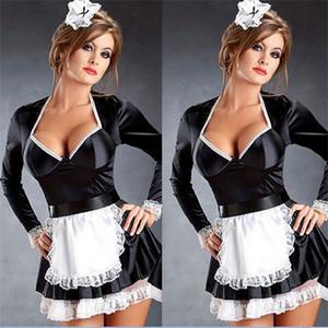 Sexy Naughty cameriera francese cameriera servo costume birra Wench ragazza Outfit L2062 M - 4XL