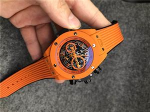 marca de moda dos homens relógio multi-cor cinta férias ao ar livre esportes militares de quartzo grande calendário de discagem relógio de luxo assistir todos os SUB trabalho