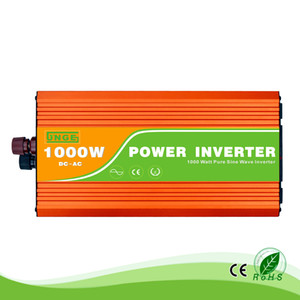 1KW 1000W 12 24 48V to 100 110 120 220 230 240VAC 50 60Hz residential home high frequency use pure sine wave off grid inverter